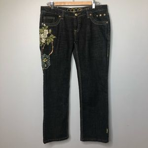 Coogi Junior Cotton Jeans With Embroidery 11/12